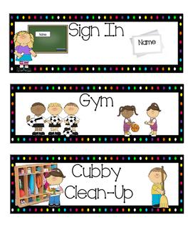 Custom Kindergarten Cards