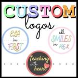 Custom LOGO DESIGN - TPT, Instagram, Store - Profile Pictu