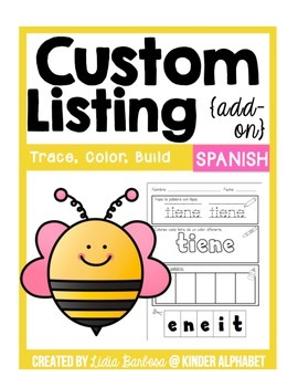 Custom Listing {Add-On to Trace, Color, Build High Frequen