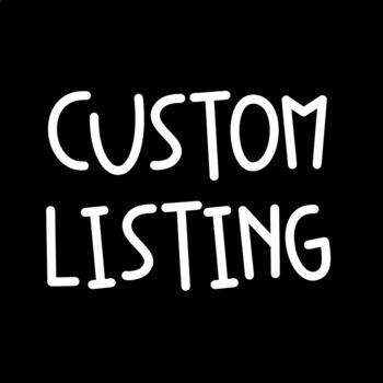 Custom Listing-Traci S.