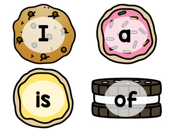 Custom Listing for Stella - Sight Word Cookie Shop