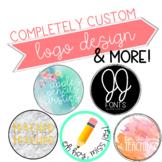 Custom Logo Design - 1 Text or Photo Logo
