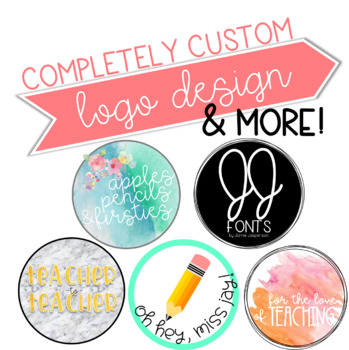 Custom Logo Design - 1 Watermark