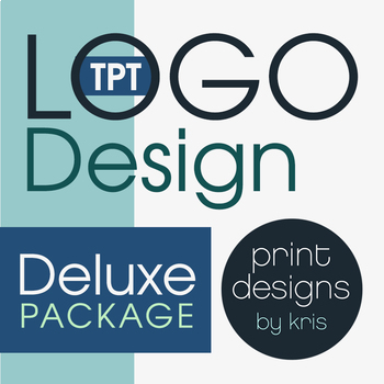 Custom Logo Design • DELUXE Package • TPT Logo Design • TP