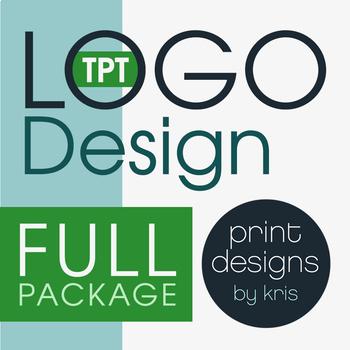 Custom Logo Design • FULL Package • TPT Logo Design • TPT