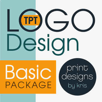 Custom Logo Design • TPT Logo Design • TPT Shop Makeover