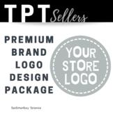 Custom Logo and Full Banner Set Design PREMIUM Package {TPT Sellers}