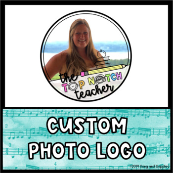 Custom Logo for Teacher-Authors (Great for Instagram and TpT!)