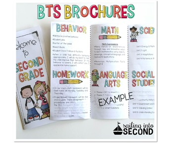 Custom Made Back to School Brochure
