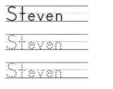 Custom Made-to-Order Handwriting Sheets