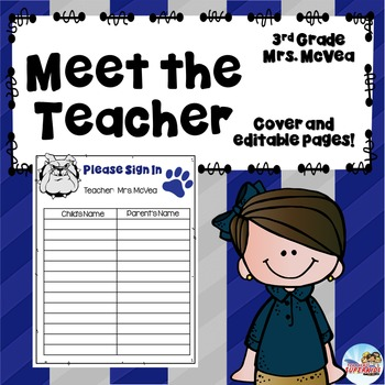 Custom Meet the Teacher