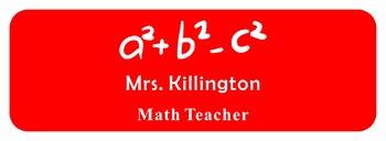 Custom Name Plate, Teacher Name Tag, Name Tags, Teacher Name Plates,Custom Tag-6