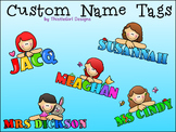 Custom Name Tags