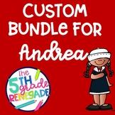 Custom Nautical Themed Bundle for Andrea
