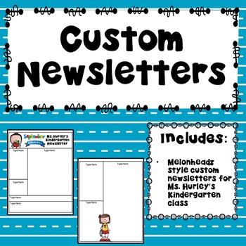 Custom Newsletters for H. Hurley
