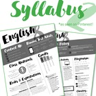 Custom Nontraditional Syllabus #2