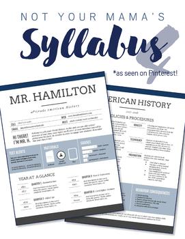 Custom Nontraditional Syllabus #4 (GOOGLE DRAWINGS!)
