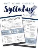 Nontraditional Syllabus Template #4 (GOOGLE DRAWINGS!)