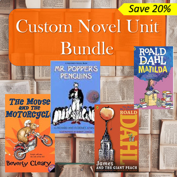 Custom Novel Unit Bundle