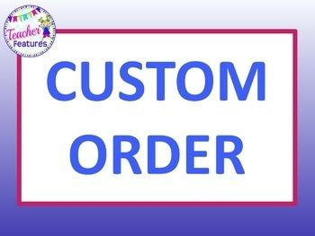 Custom Order Awards for Book Cafe