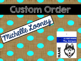 Custom Order- Brag Tags