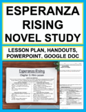 Esperanza Rising | Printable & Digital Novel Study
