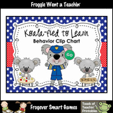 Custom Order--Koala-fied to Learn Behavior Clip Chart