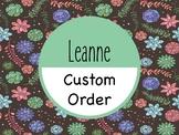 Custom Order: Leanne