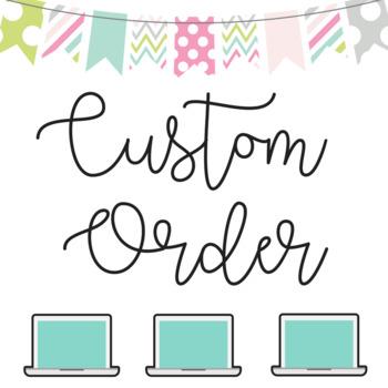 Custom Order DO NOT Purchase