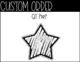 Custom Order QT Pies 2020