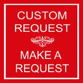 Custom Order Requests TpT Request a Custom Order.