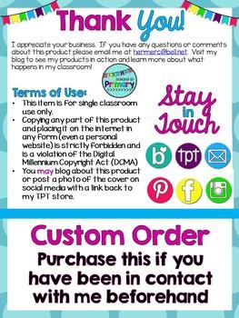 Custom Order Resources - Priscilla
