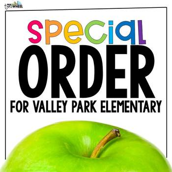 Custom Order: School-wide License for Valley Park Elementary