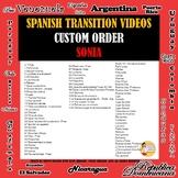 Custom Order Transition Videos Sonia