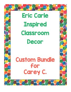 Custom Order for Carey C
