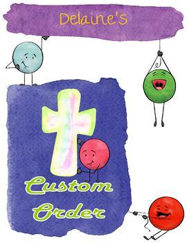 Custom Order for Delaine - St. Michael the Archangel Prayer Pack