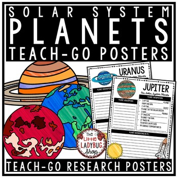 Solar System and Planets Research Project• Teach- Go Posters
