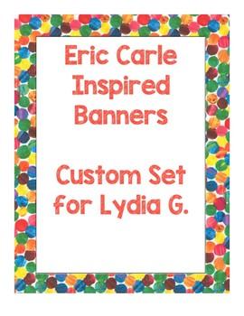 Custom Order for Lydia G