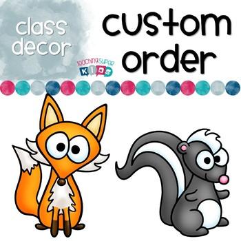 Custom Order for Mary Kate