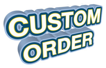 Custom Item 102 and 103 Bundle: Pre-Arranged Per Conversation with Buyer