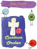 Custom Order for Shannon - Memorare Prayer Pack