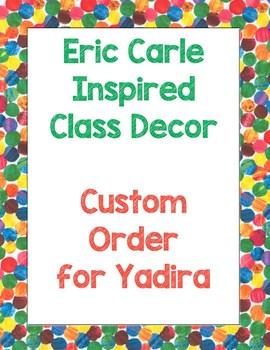 Custom Order for Yadira