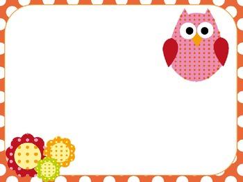 Custom Owl PowerPoint Template - Editable