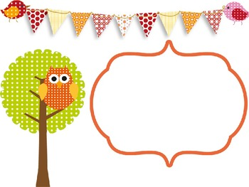 Custom Owl Powerpoint Template Editable By Learning In Kinder Tpt