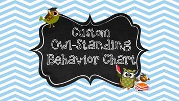 Custom Owl-Standing Behavior Chart
