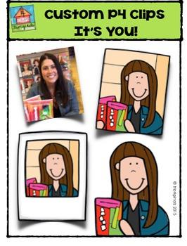 Custom P4 Clips It's You {Trioriginals Digital Clip Art}