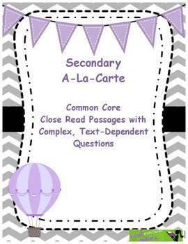 Custom Packet Non Fiction 6th Grade