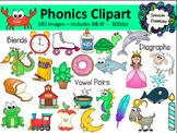 Phonics Bundle - 180 images!