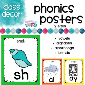 Phonics Posters Primary and White