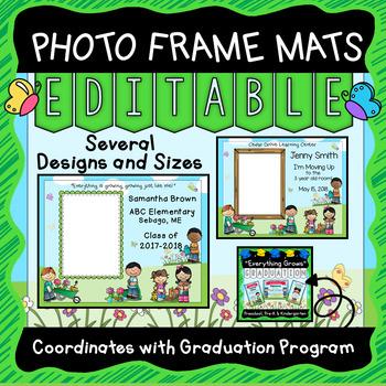 Custom Picture Frames - Editable